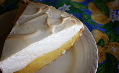 Domata Gluten Free Lemon Meringue Pie