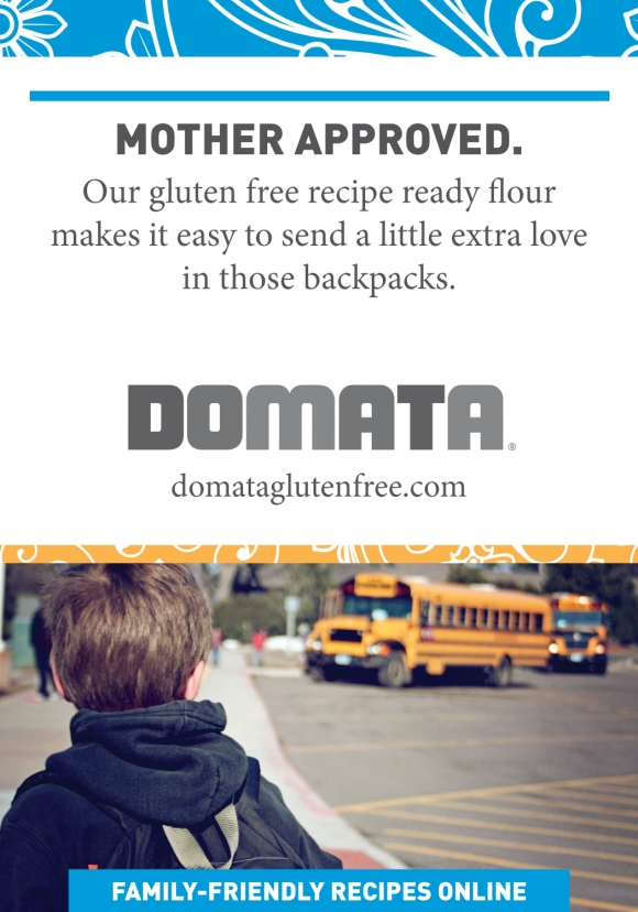Domata Gluten Free Back to School