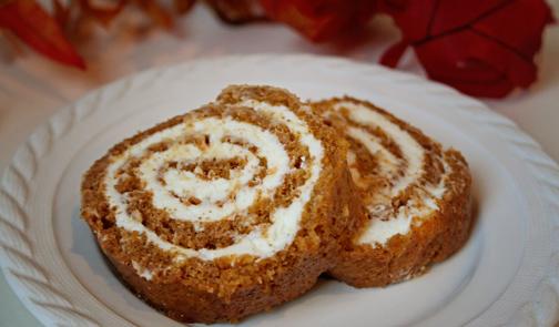 Domata gluten free pumpkin roll