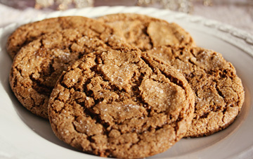 Domata gluten free molasses cookies